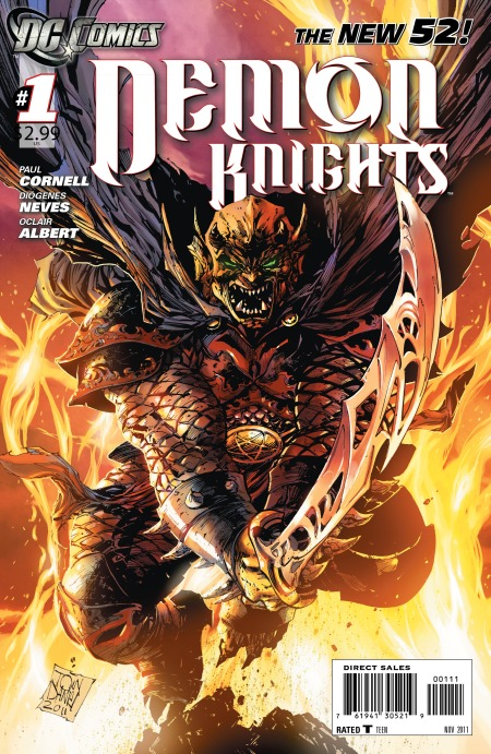 demon knights issue 1