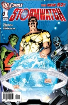 stormwatch issue 1
